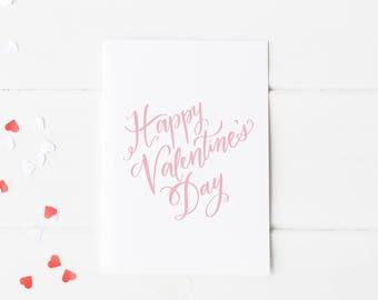 Happy Valentine's Day  - Greeting Card