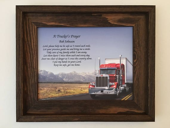 Trucker's Prayer,