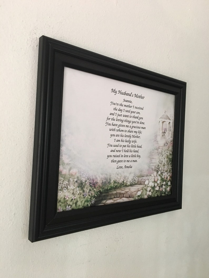 Mother In Law Gifts Mothers Day Gift For Frame