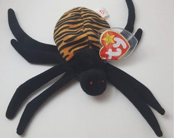 Spinner the Spider Beanie Baby TY 1996 865ef2dfca