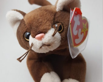 4c23a545161 Pounce the Cat Beanie Baby TY 1997