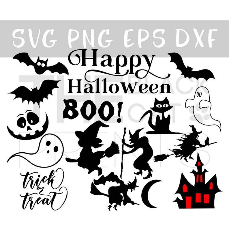Happy Halloween Clip Art Svg Halloween Bundle Svg Cut Files