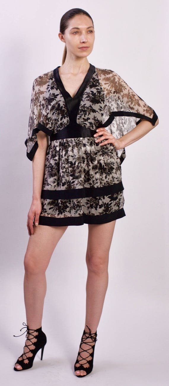 Balenciaga Vintage Silk Chiffon Dress
