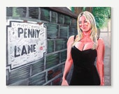 PENNY LANE  greeting card...