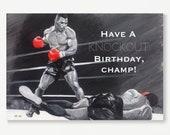 MIKE TYSON birthday card ...