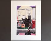 CATWOMAN wall art - gicle...