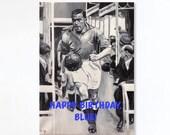 EVERTON FC birthday card ...