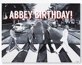 BEATLES ABBEY ROAD birthd...