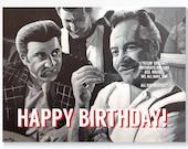 SOPRANOS birthday card - ...
