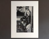 KATE MOSS wall art - gicl...