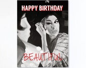 AMY WINEHOUSE birthday ca...