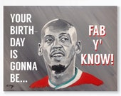 FABINHO birthday card - L...