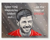 LFC CHRISTMAS CARD - Stev...