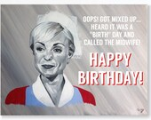 CALL THE MIDWIFE birthday...