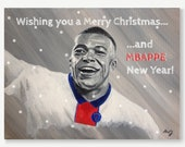 KYLIAN MBAPPE Christmas c...
