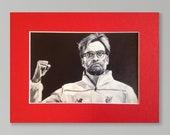 JURGEN KLOPP LFC wall art...