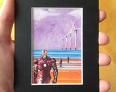 IRON MAN fridge magnet - ...