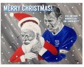 EVERTON Christmas Card - ...