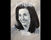 FRIENDS birthday card - M...