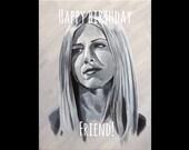 FRIENDS birthday card - R...