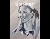 FRIENDS birthday card - P...