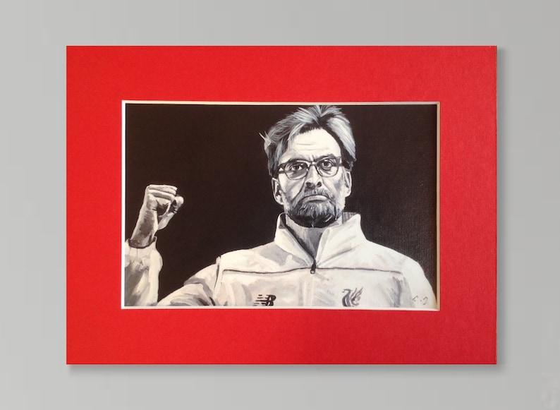 JURGEN KLOPP LFC wall art  giclee print of 'The image 0