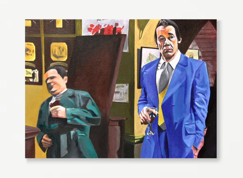 ONLY FOOLS & HORSES greeting card  Del Boy falling through image 0