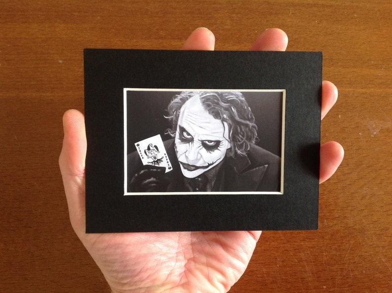 THE JOKER fridge magnet  collectible miniature print of image 0