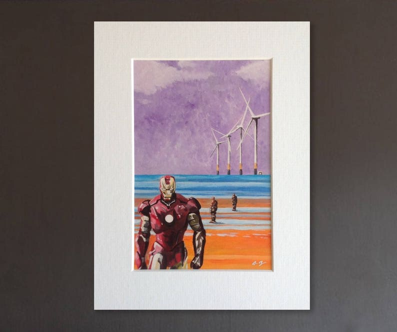 IRONMAN wall art  giclee print of 'Another Stark image 0