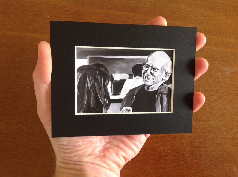 CURB YOUR ENTHUSIASM fridge magnet  collectible miniature image 0