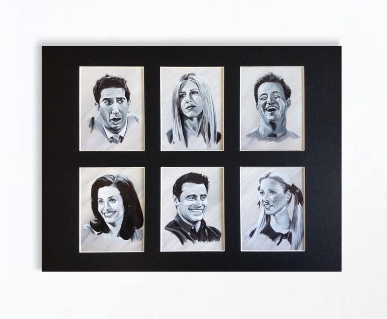 FRIENDS wall art  giclee print of 'Friends Forever' image 0