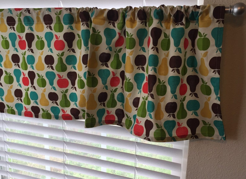 Awesome Ready To Ship Apple And Pear Valance Kitchen Valance Apple Valance Pear Valance Apple Curtains Pear Curtains Apple Decor Pear Decor Download Free Architecture Designs Scobabritishbridgeorg