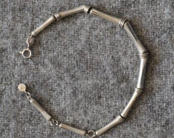 delicate sterling silver bracelet