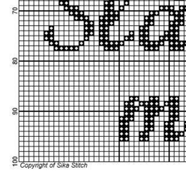 Scottish Gaelic Cross Stitch Pattern Slinte Mhath Sign Etsy