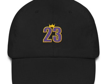 ... mitchell ness nba x flexfit 110 snapback cap d55ce 8f60c  real lebron  king james 23 la los angeles lakers embroidered dad hat strap back cap adult eb7103ec16d9
