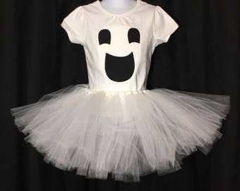 Ghost Costume Girls Halloween Costume Cute Ghost Tutu Costume Ghost Costume For Girls Halloween Costume for Girls Baby Girl Costume & Girls ghost costume | Etsy