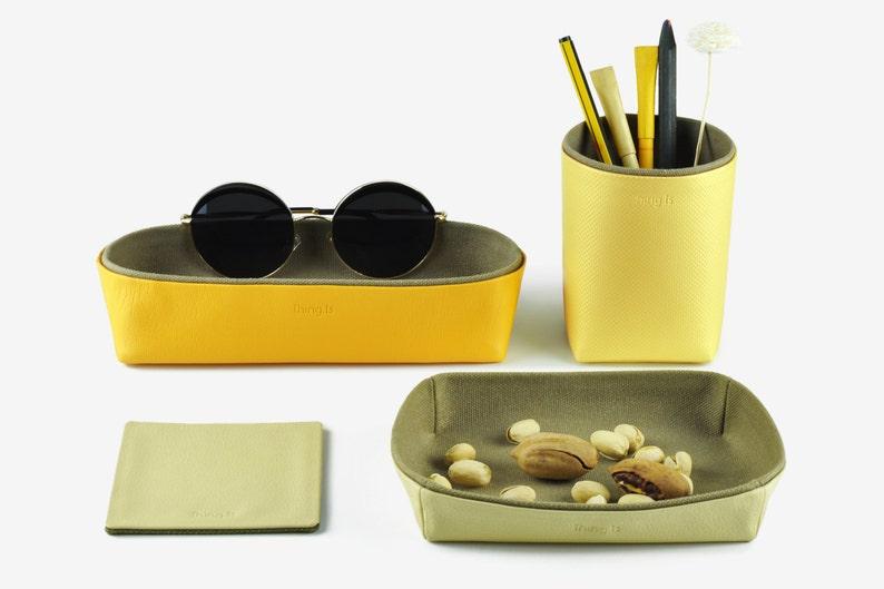 Desk Organization Desk Organizer Desk Set  Pencil Holder image 0