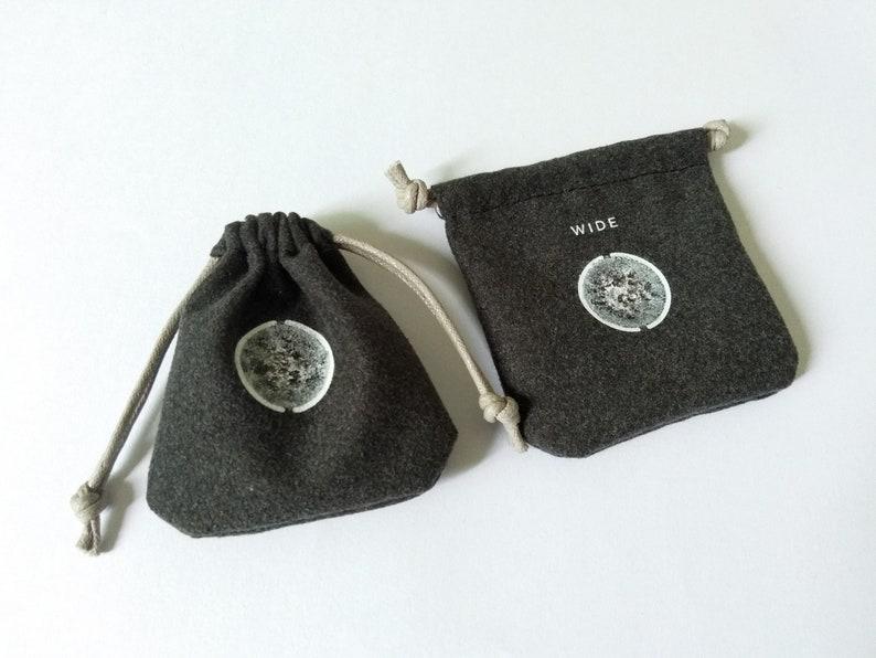 Phone Lens Bag Storage Bag Coins Pouch Black Small Microfiber Drawstring Bag Jewelry Bag