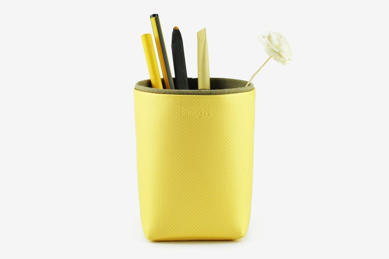 Pencil Holder Brush Holder Storage Box Desk Organization image 0