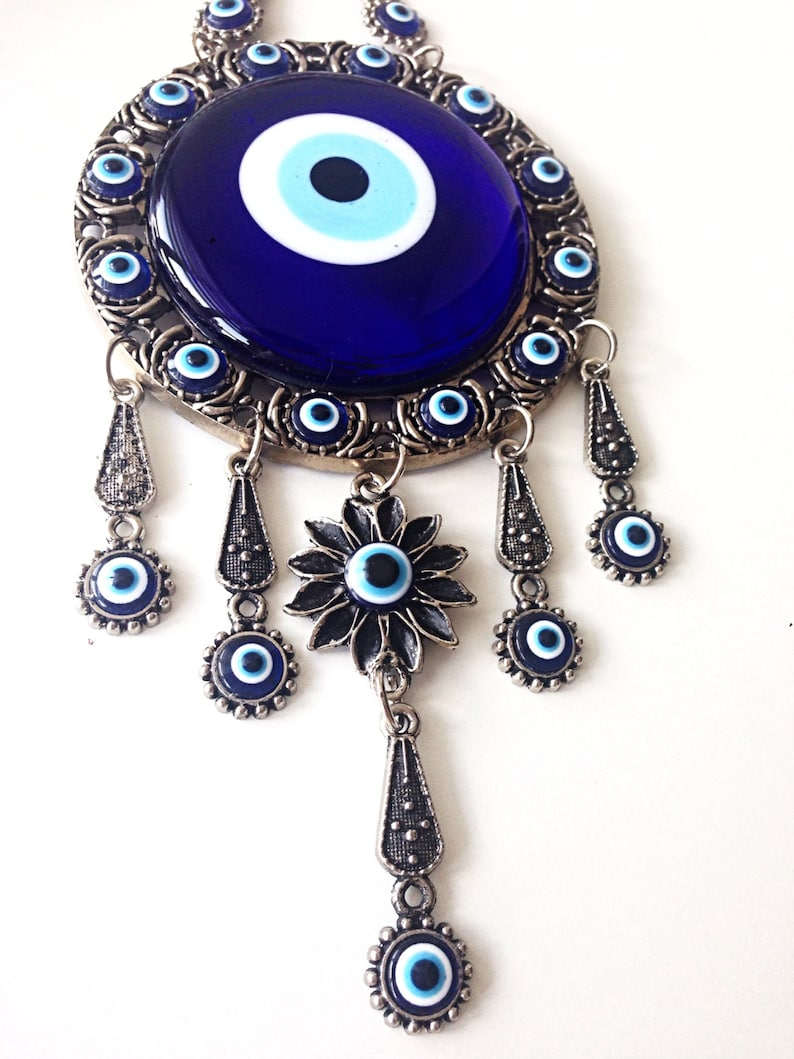 Evil eye wall décor - Turkish evil eye - evil eye wall hanging - evil eye  décor - wall decal - large evil eye - nazar boncuk