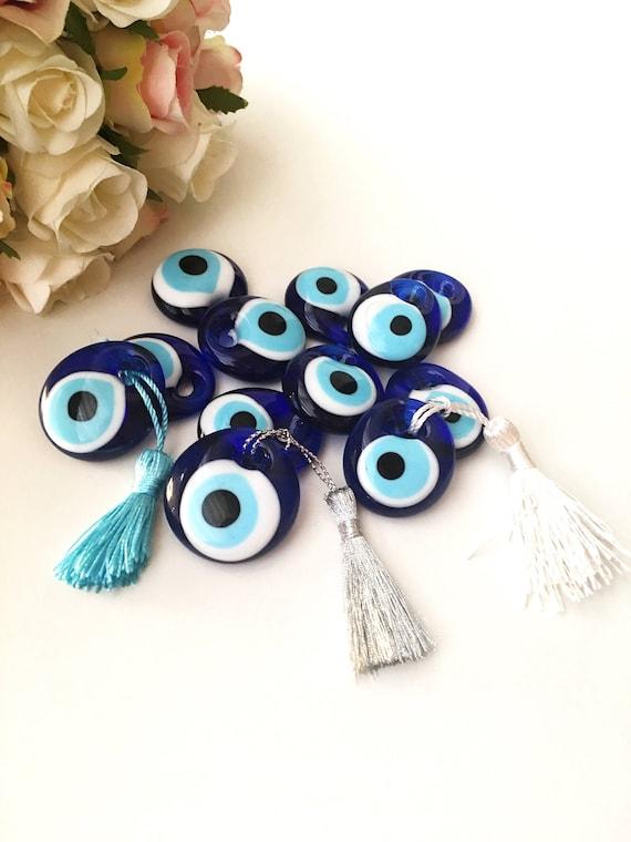 Hochzeitsgeschenke Fur Gaste Blau 100 Stuck Evil Eye Perlen Etsy