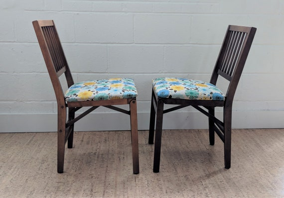 Stakmore Folding Chairs Vintage.Vintage Stakmore Folding Chairs Wood Chairs
