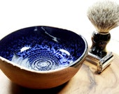 Unique Handmade Pottery Shave Bowl