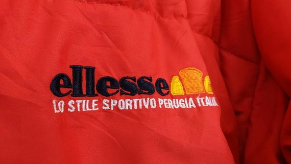 Sportivo Hidden Vintage Puffer Perugia Spell Ellesse Colour Embroidery Italia Large Jacket Out Block Hooded g5rBwqv5x