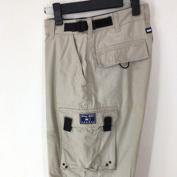 Pants Trunks Hilfiger 90s Rare Cargo Tommy Style 6wBgx