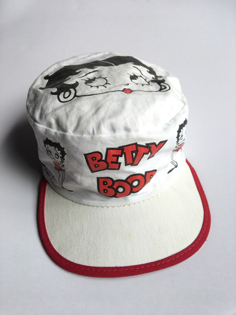 f10835379 Rare!! Vintage 1992 Betty Boop Painter Hat Cap Collectibles