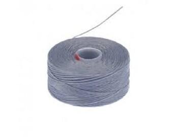 S-Lon D Beading Thread. Superlon Bead Weaving Thread. GREY x 1