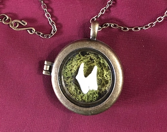 Dog tooth locket   Vulture Culture