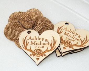 Thank you wedding tags, Wedding favor, Wedding favor tags, Wedding favor rustic, Wedding rustic, Wooden tags, Thank you tags, Wood tags