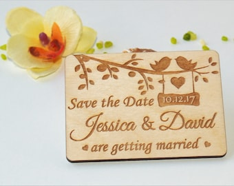Save the date invitations, Save the date rustic, Save the date magnet, Wood save the date, Save the date magnet rustic, Save the date cards